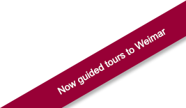 Now guided tours to Weimar